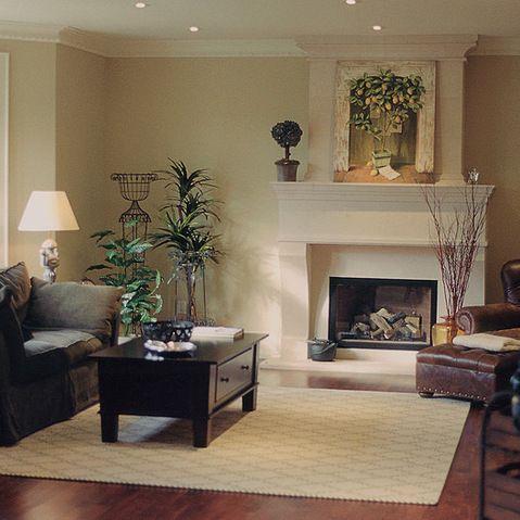 Elegant Fireplace Mantel As Luxurious Focal Point: Modern Bright Fireplace  Mantels