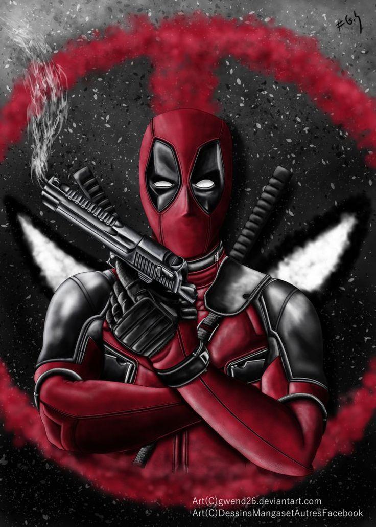#Deadpool #Fan #Art.(DeadPool) By:Gwend26. (THE * 5 * STÅR * ÅWARD * OF: * AW YEAH, IT'S MAJOR ÅWESOMENESS!!!™)[THANK Ü 4 PINNING<·><]<©>ÅÅÅ+(OB4E)    https://s-media-cache-ak0.pinimg.com/474x/5b/11/f3/5b11f3860593d68ad910265357886118.jpg