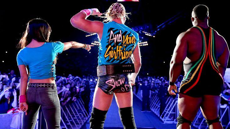 aj lee 2013 photos | AJ Lee WWE Worldwide 2013 - Raw In Paris, France