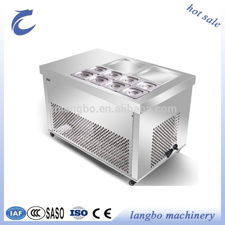 Pan Fried Ice Cream Roll Machine for Sale/Fy Ice Cream Machine/ Most Convenient Stainless Steel Pan Fried Ice Cream Machine