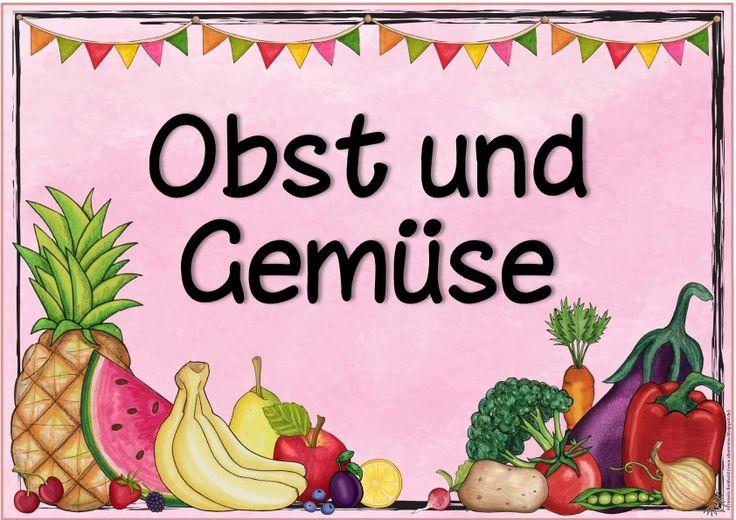 Ideenreise: Zwei weitere Themenplakate (Obst und Gemüse/Familie)