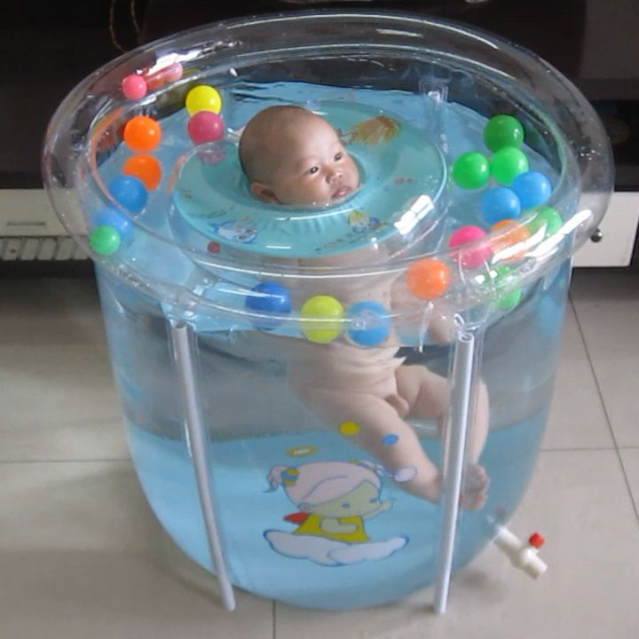 Transparent Mount Baby Swimming Pool Paddling Pool Baby Infant Children Water Pool Newborn