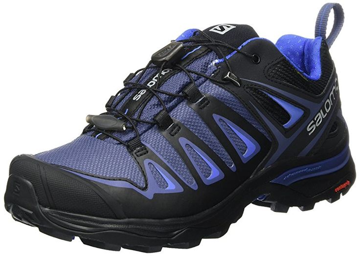 Salomon Women's Ultra 3 GTX Low Rise Hiking Shoes, Multicolor (Crown Blue/India Ink), 7 UK: Amazon.co.uk: Shoes & Bags