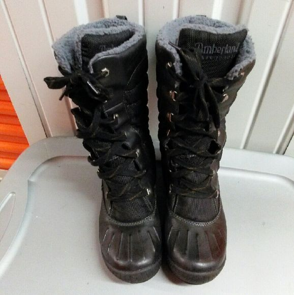 Timberland Duck Boot Worn several times.great condition Timberland Shoes Winter & Rain Boots