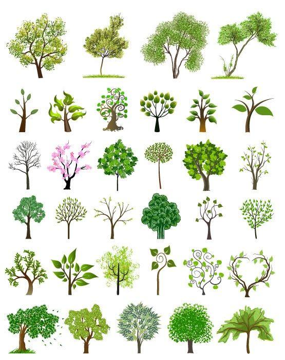 [나무 일러스트] 봄