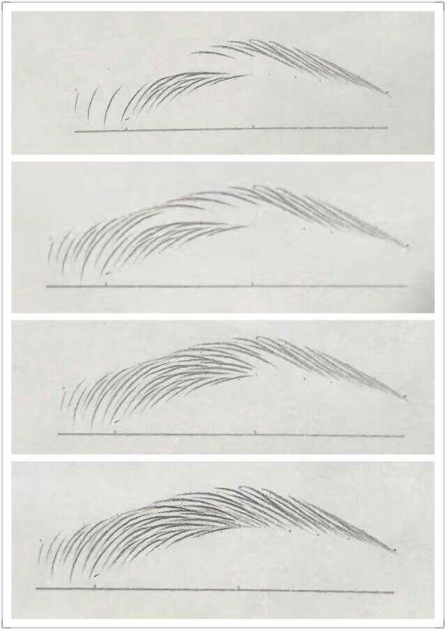 Augenbraue zeichnen