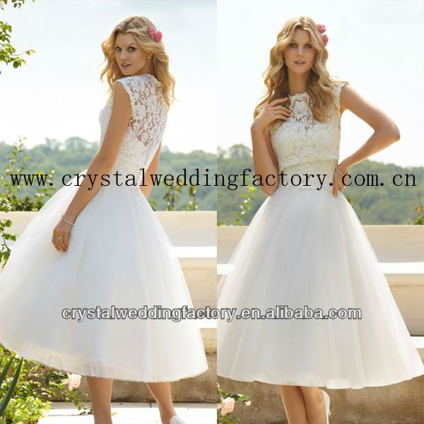 warm te koop korte mouw kant korset baljurk rok thee lengte kanten trouwjurk met jacketcwfaw5119-afbeelding-plus size jurk en rokken-product-ID:734201865-dutch.alibaba.com
