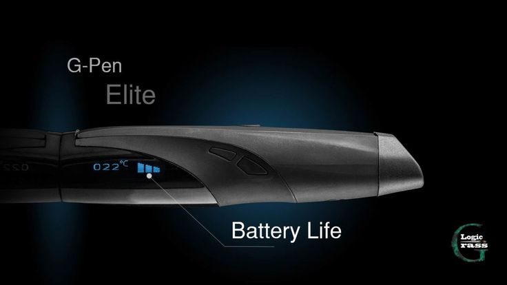 g pen elite vaporizer review battery