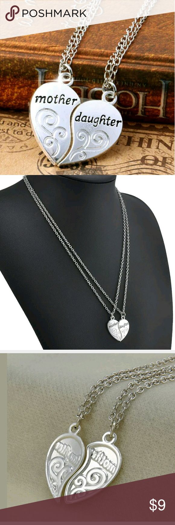Mother Daughter necklaces Love Mothers Day Beautiful fashion necklaces. Comes as a set. Jewelry Necklaces