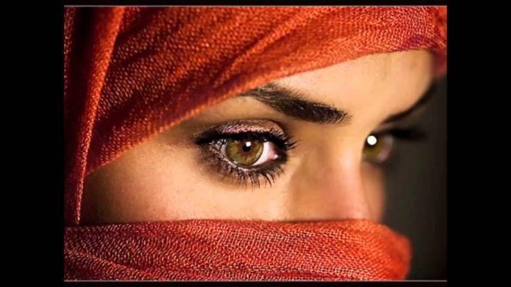 Eyes of the most beautiful Arab women - YouTube