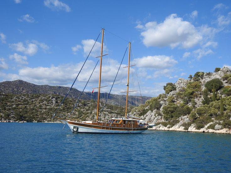 Blue Cruise on turquoise coasts of Turkey