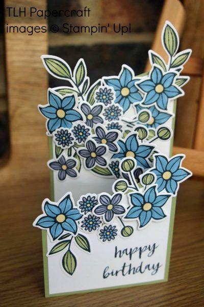 Pootlers Design Team - Falling Flowers Week 1