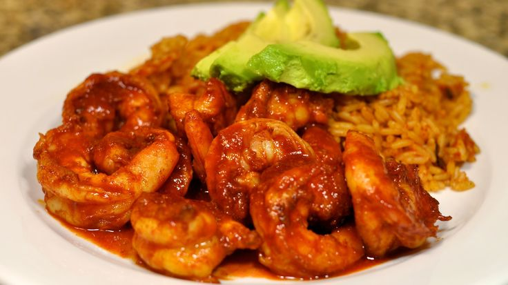 Spicy Mexican Shrimp with Chipotle Recipe / Camarones ala Diabla con Chi...
