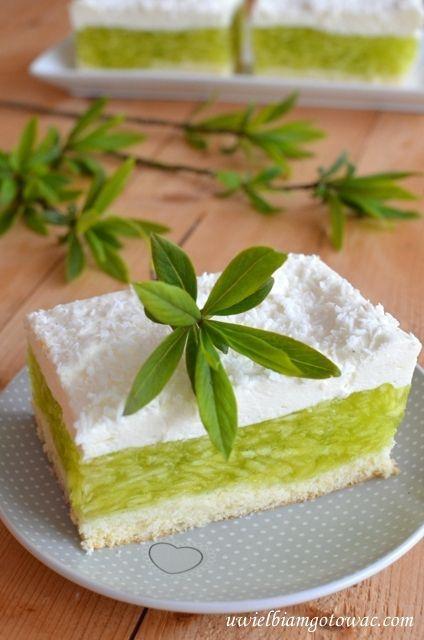 Ciasto Zielone jabłuszko