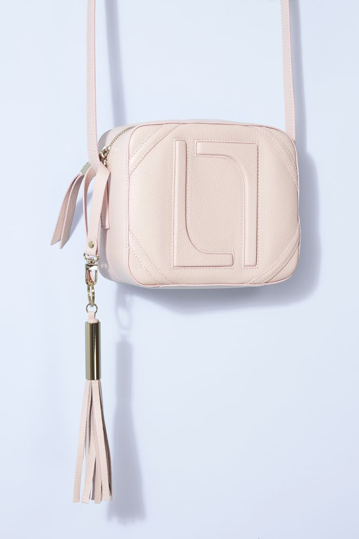 This cute candy-coloured mini bag from Laurèl comes in the season's hottest hue: blush pink. Despite the compact size, there's room for all your essentials (lipstick, phone, credit card) no matter the occasion - now, isn't that a weight off your shoulders?