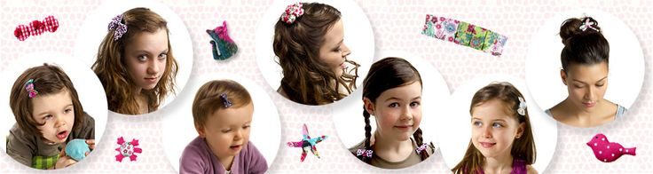 Barrette cheveux originale : barrette fantaisie, bonbon, chignon, étoile - PPMC