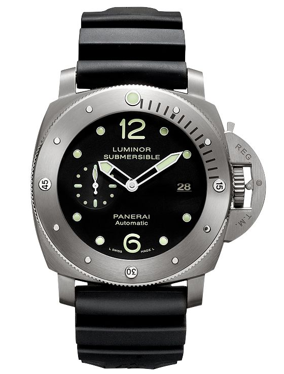 Panerai Luminor Submersible 1950 3 Days Automatic Titanio 47mm 10th Ann PCYC 50LE PAM00571 2014