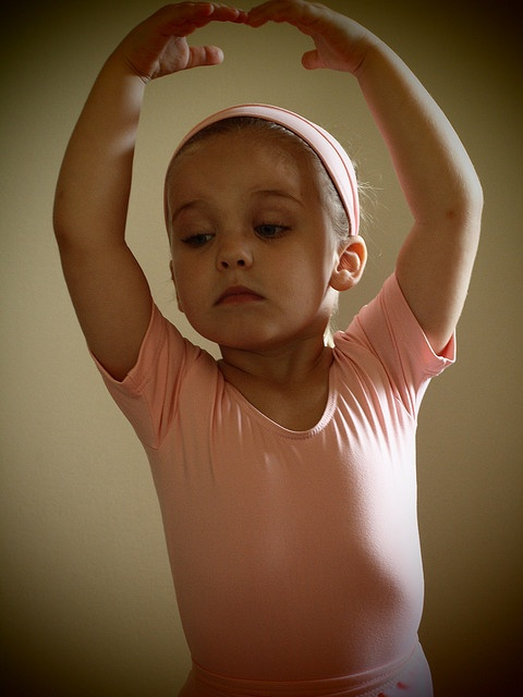 Oh my goodness gracious! Look at this little beauty!! She will SO be a ballerina someday!