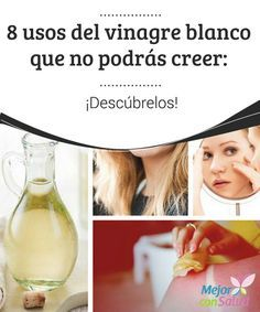 8 usos del vinagre blanco que no podrás creer: ¡Descúbrelos!   Los usos del vinagre blanco son tantos que se va ha convertir como un elemento imprescindible para limpieza del hogar.¡Descúbrelo!