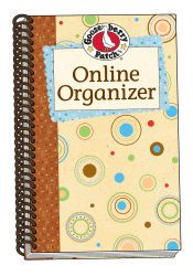 Get rid of the sticky notes and organize your username and passwords in this handy dandy book.