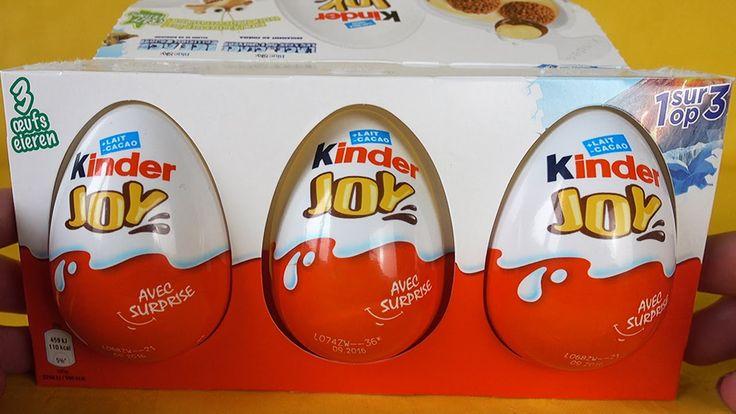 Kinder Joy Surprise Eggs Surprise Toys Киндер Джой Сюрприз Игрушки