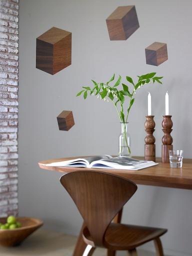 24 best Design Möbel in Holzoptik images on Pinterest Living - designer mobel verbranntem holz