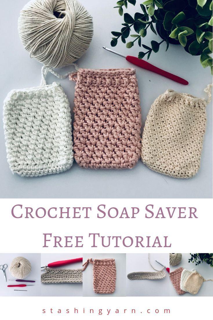 Easy Crochet Soap Saver Tutorial – Great for Beginner Crocheters