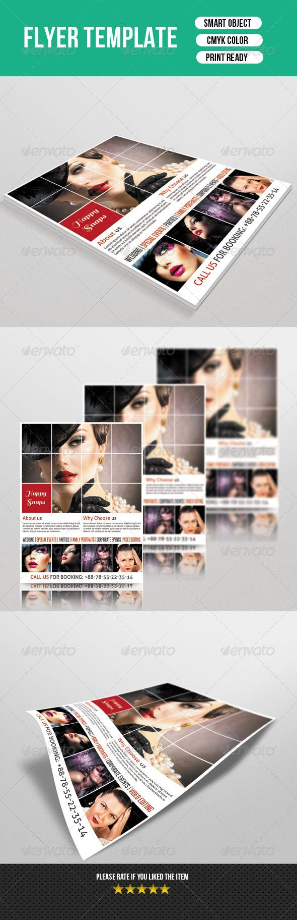 1703 best Business Flyer Template images on Pinterest | Business ...