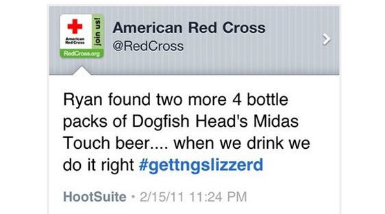 Red Cross #GettingSlizzard - Social Media Epic Fails #ViralInNature