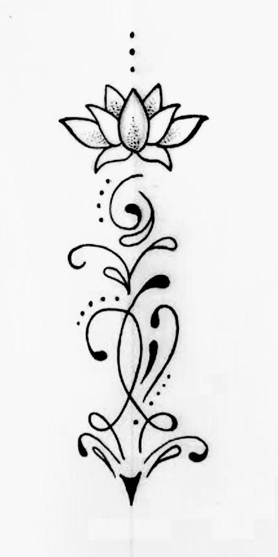 Pin By Malgorzata Ketber On Tatuaze Kwiat Lotosu Sliczne Tatuaze Tatuaz