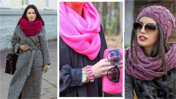 10 способов элегантно носить шарф-снуд женщинам 40+