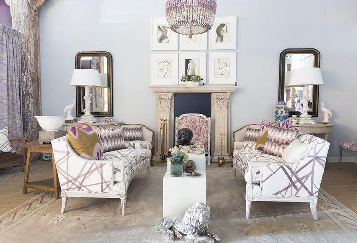 Living room inspiration from Fritz Porter in Charleston