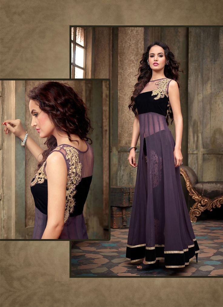 Fancy Purple Designer Salwar Suit  #designer #purple #salwarsuit #designer #ethnicsuit #shopvoie #pakistanisuit #partywear #fancysuit