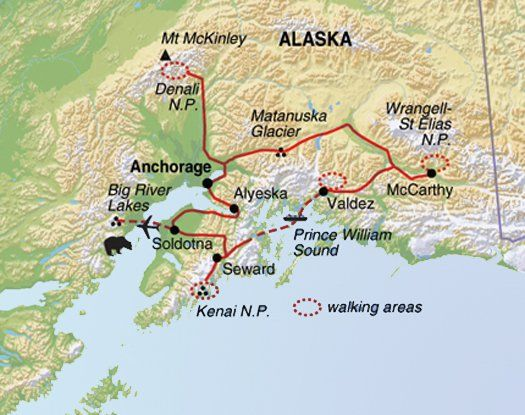 Discover Holidays in United States | Alaskan Wildlife & Wilderness