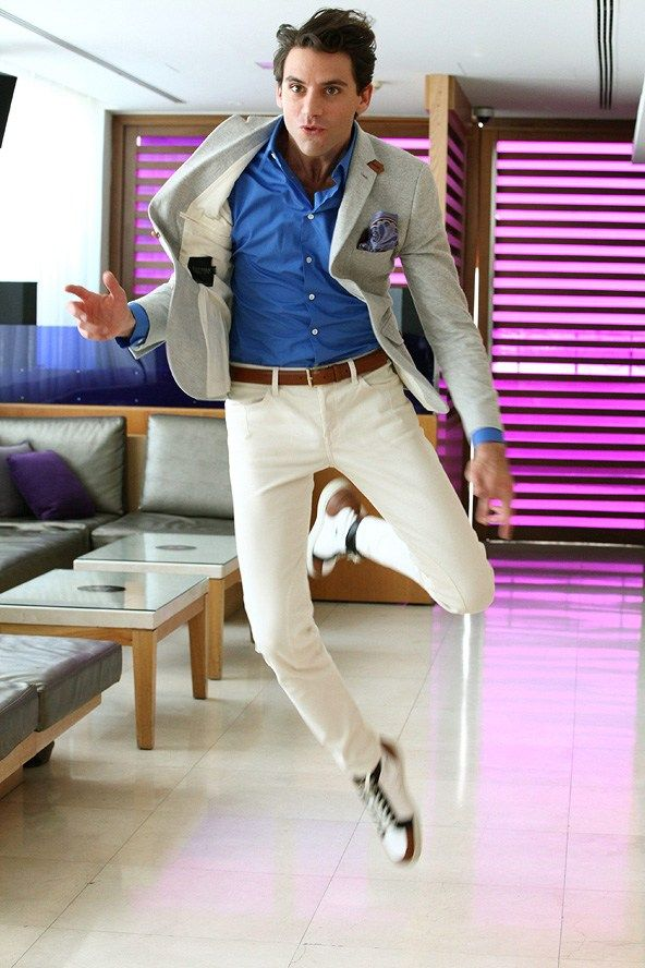 MIKA is the only combination of classy/stylish/talented that exists. Because, let's be honest - who looks THAT good while jumping?