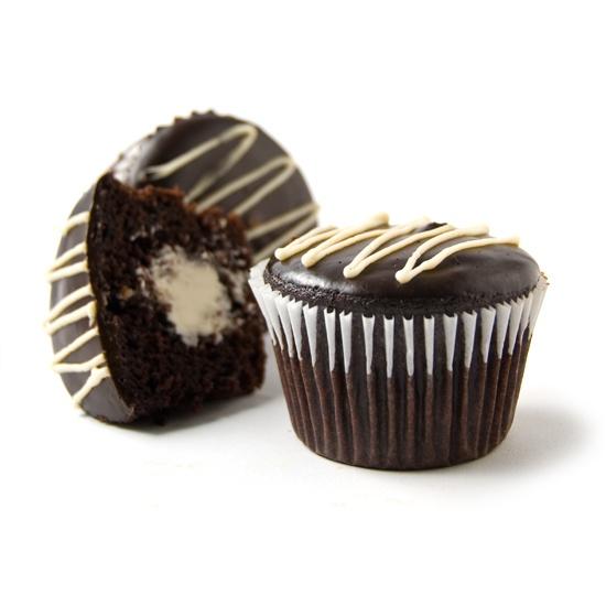 Cream Filled Cupcake #vegan