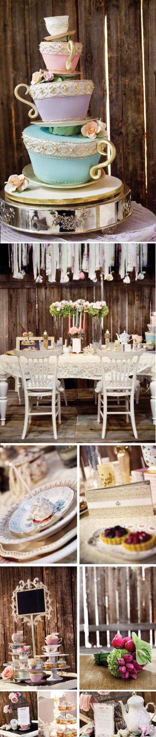 A Fairytale Wedding  http://elegantwedding.ca/2011-10-13/inspiration/a-fairytale-wedding/