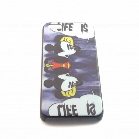 Coque Mickey life is iPhone 5c
