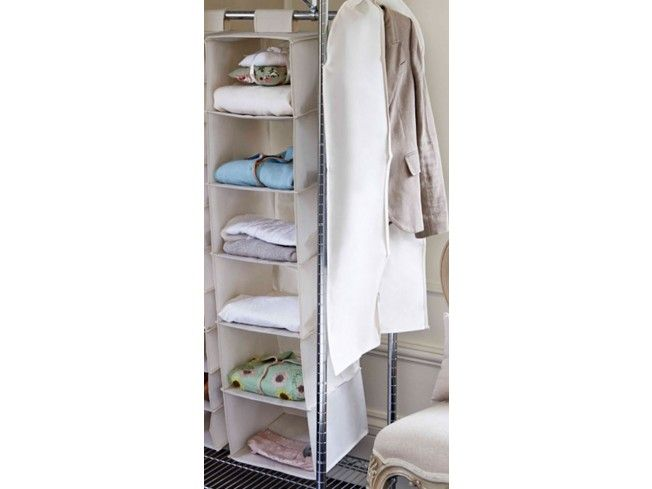 Our Beige Mesh Sweater Shelves Are An Ideal Storage Solution For Organising  Jumpers, T
