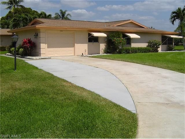 Impeccable Clean Property...! Fantastic Freshly Paint Job..! With Bright Beautiful Colors; 2 Beds; 2 Bath; 1,567 Sf Living Area; Florida Room; Tile Flooring Throughout The Entire House; Large Size Corner Lot; Beautifully Landscaping; Perfect Location In Whisky Creek Condominium For 55+ Resident Owners With A Very Low Hoa Fees.