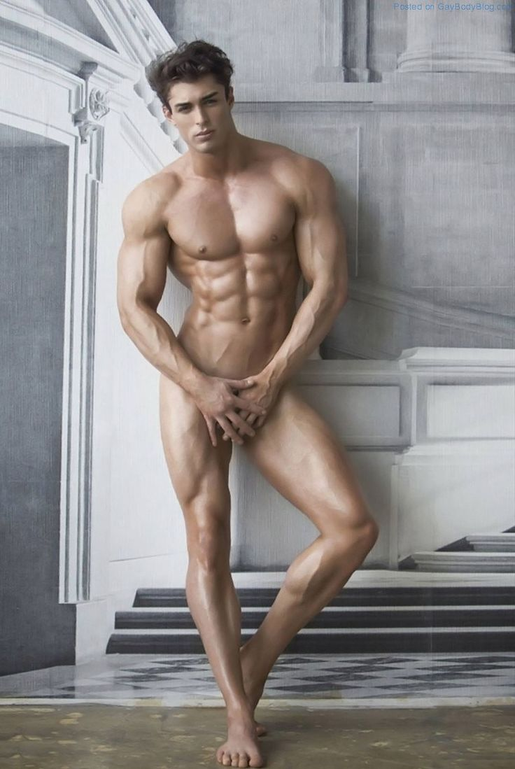 Muscled Jock Model David Lurs Looks Amazing 4