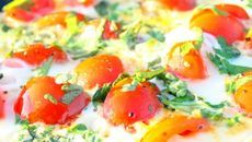 Cherry tomato and herb heart-healthy omelette