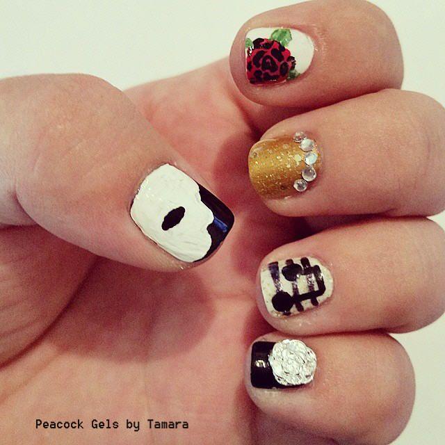 52 best Dance/Music nails images on Pinterest | Music nail art ...