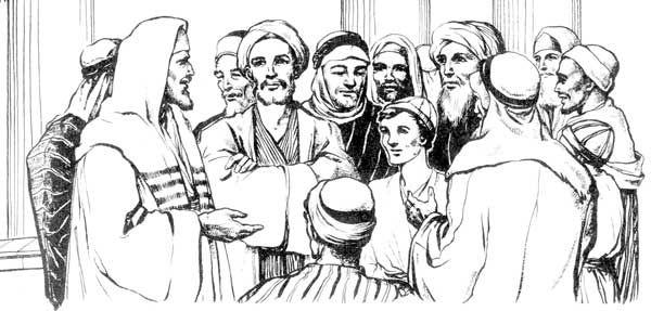 12-year-old Jesus in the temple (Luke 2:41-51)