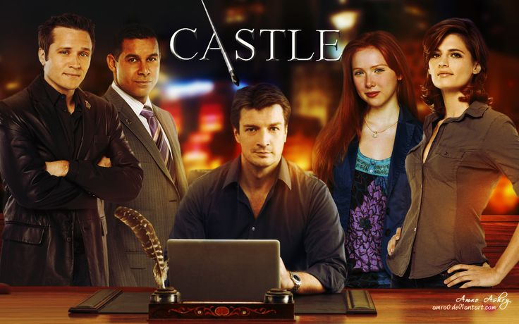 Castle - Nathan Fillion, Stana Kadic, Molly Quin