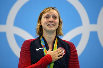 Rio 2016 Summer Olympic Games Best stories : 4 gold medals for Katie Ledecky of the United States in Swimming Women's Freestyle in August 2016. Congratulations to Katie Ledecky!  Congratulations to Katie Ledecky !!!  http://www.superprofesseur.com/306.html  #Rio2016 #swimming  #sportsmarketing #sports #ronaldtintin #olympicsports #ronningainstcancer #brazil #dogood #congratulations #worldrecord #olympicrecord #USA #goldmedal #beststories #olympicgames2016 #KatieLedecky #teamUSA
