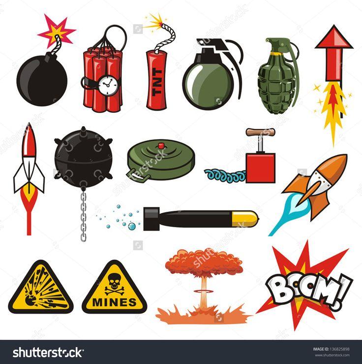 Взрывные вещества в картинках