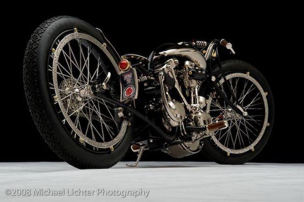 The Nickel Bike by Cooks Custom Choppers Milwaukee Wisconsin