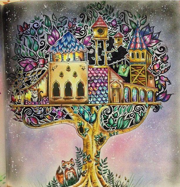 Tree House Enchanted Forest By Eli Federzoni