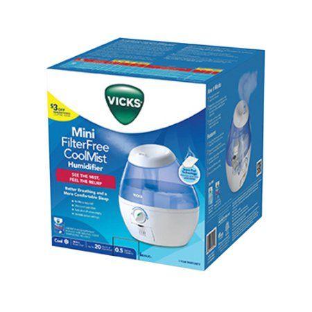 KAZ USA VUL520W 1/2GAL Vicks Humidifier, Blue